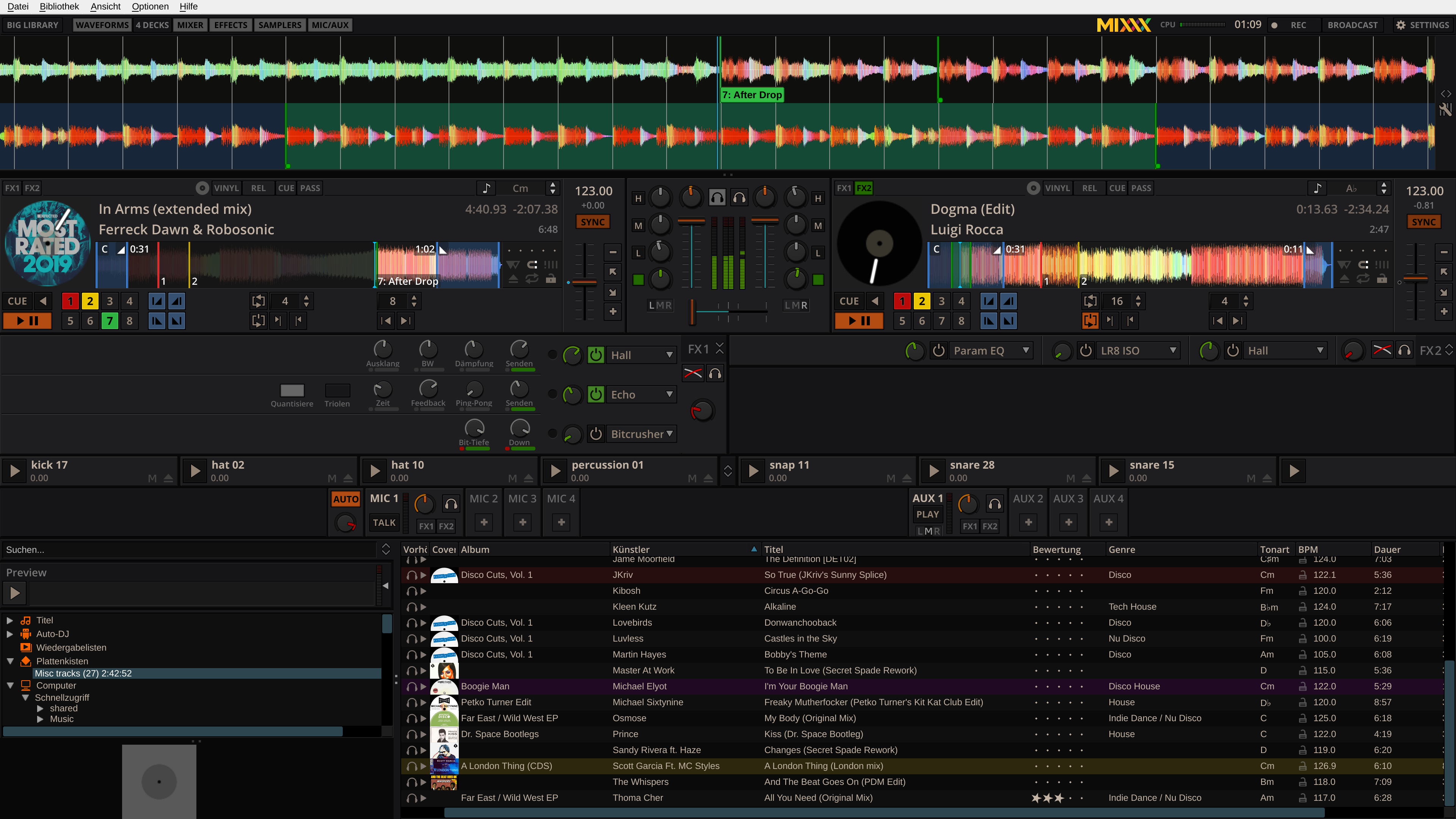 Mixxx is a Free DJ Mixing Software for your radio station. Mixxx integrates the tools DJs need to perform creative live mixes with digital music files. Whether you are a new… READ MORE